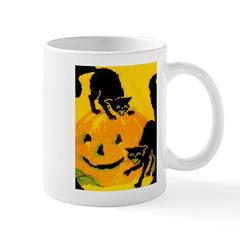 Pumpkin Cats Mug