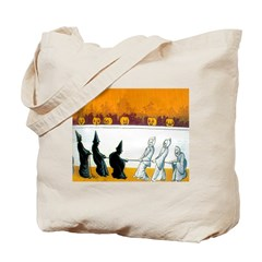 Ghostly Ghouls Tote Bag