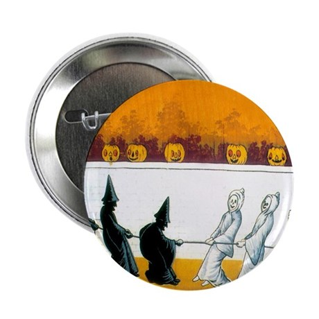 """Ghostly Ghouls 2.25"""" Button (10 pack)"""