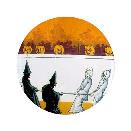 """Ghostly Ghouls 3.5"""" Button"""