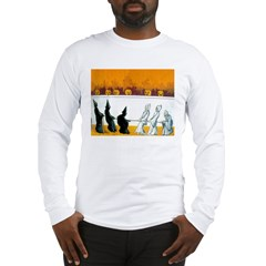 Ghostly Ghouls Long Sleeve T-Shirt