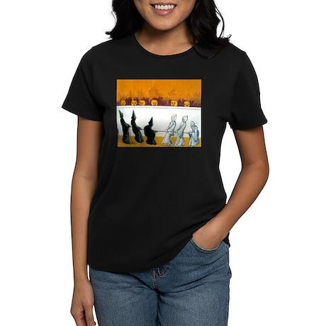 Ghostly Ghouls Women's Dark T-Shirt