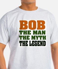 BOB - the Legend Ash Grey T-Shirt