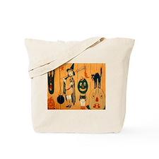 Halloween Frolic Tote Bag