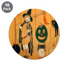 "Halloween Frolic 3.5"" Button (10 pack)"