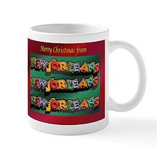 New Orleans Christmas Mug