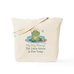 Frog Prince 5th Birthday Tote Bag