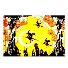 Witches Night Postcards (Package of 8)