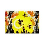 Witches Night Rectangle Magnet (10 pack)