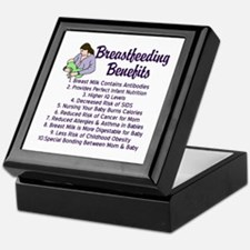 Breastfeeding Benefits Keepsake Box