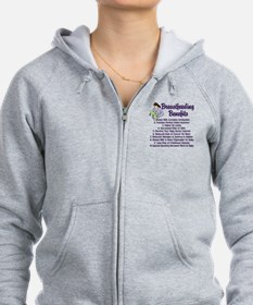 Breastfeeding Benefits Zip Hoodie