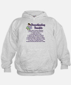 Breastfeeding Benefits Hoodie