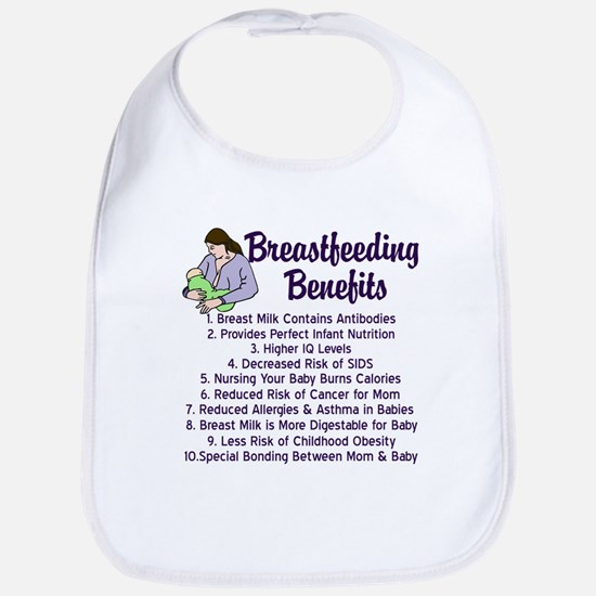 Breastfeeding Benefits Bib
