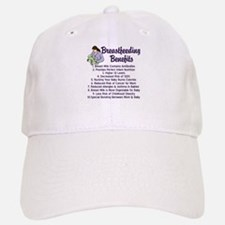 Breastfeeding Benefits Baseball Baseball Cap