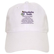Breastfeeding Benefits Baseball Cap