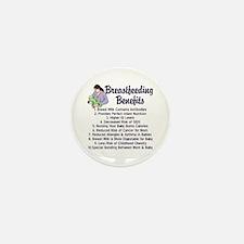 Breastfeeding Benefits Mini Button (10 pack)