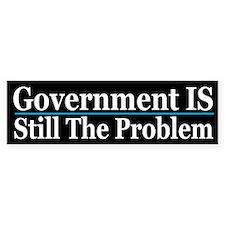 Govt. is still the Problem