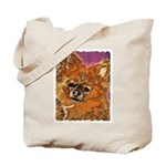 Long Haired Chihuahua Tote Bag