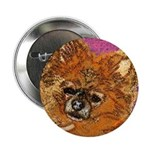 Long Haired Chihuahua Button