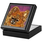 Long Haired Chihuahua Jewelry Box