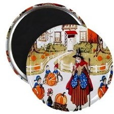 """Witches & Elves 2.25"""" Magnet (10 pack)"""