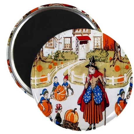 """Witches & Elves 2.25"""" Magnet (100 pack)"""