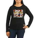 Witches & Elves Women's Long Sleeve Dark T-Shirt