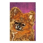 Long Haired Chihuahua Postcards (Package of 8)