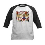 Witches & Elves Kids Baseball Jersey