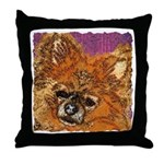 Long Haired Chihuahua Throw Pillow