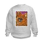 Long Haired Chihuahua Kids Sweatshirt
