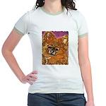 Long Haired Chihuahua Jr. Ringer T-Shirt