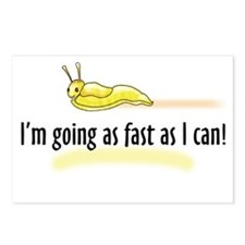 I'm going as fast as I can! Postcards (Package of