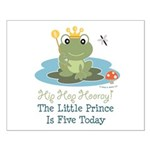 Frog Prince 5th Birthday Small Poster
