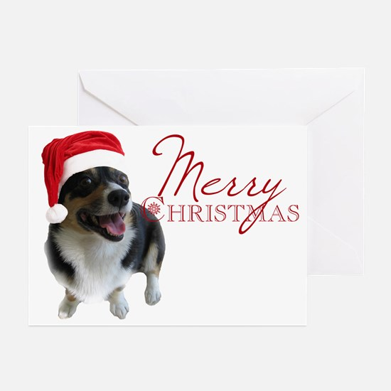 Corgi Santa Greeting Cards (Pk of 20)