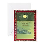 Everglades Christmas Greeting Card