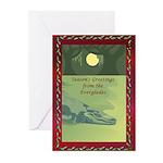 Everglades Christmas Greeting Cards (Pk of 10)