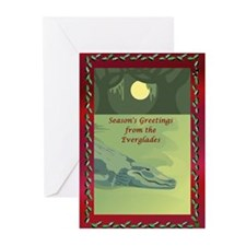 Everglades Christmas Greeting Cards (Pk of 10)