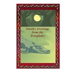 Everglades Christmas Postcards (Package of 8)