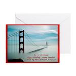 San Francisco Christmas Greeting Cards (Pk of 20)