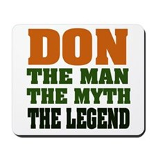 DON - The Legend Mousepad