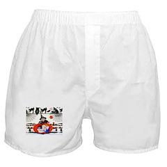Witch Pumpkin Boxer Shorts