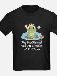 Frog Prince 3rd Birthday T
