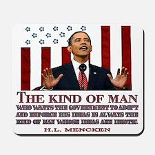 Obama & Idiotic Ideas Mousepad