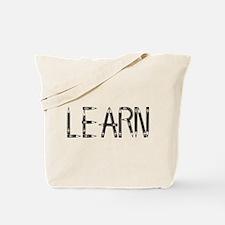 Learn / Self-Education Tote Bag