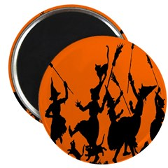 """Witches Dance 2 2.25"""" Magnet (100 pack)"""