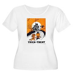 Vintage Trick or Treat Image T-Shirt