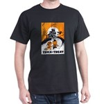 Vintage Trick or Treat Image Dark T-Shirt