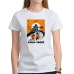 Vintage Trick or Treat Image Women's T-Shirt