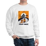 Vintage Trick or Treat Image Sweatshirt